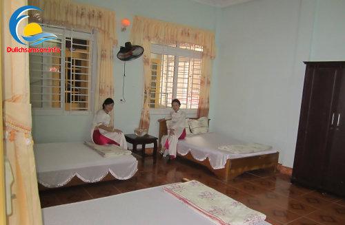 Phòng nghỉ tại khách sạn Thanh Lan Sầm Sơn