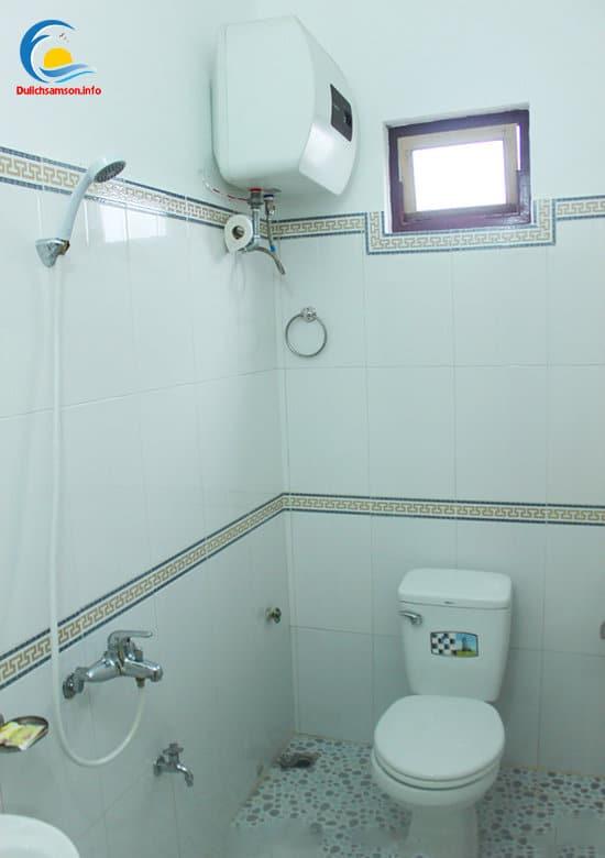Phòng tắm tại khách sạn Minh Vân Sầm Sơn