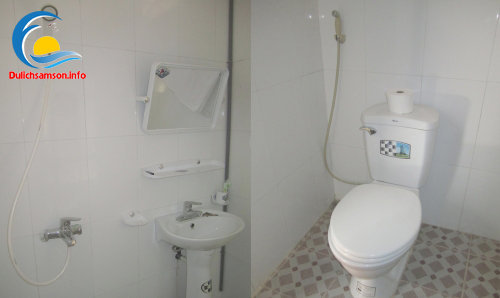 Phòng vệ sinh khách sạn Vân Thành Sầm Sơn