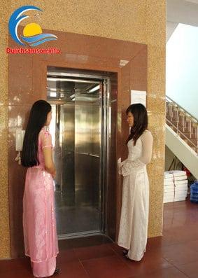 Thang máy tại khách sạn Bia Thanh Hoa Sầm Sơn