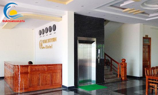 Thang máy khách sạn Kim Xuyến Sầm Sơn
