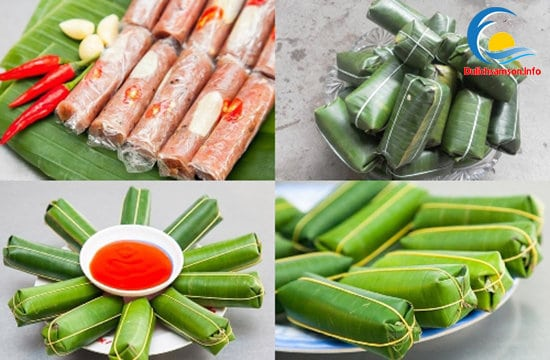 Thưởng thức nem chua Sầm Sơn Thanh Hóa
