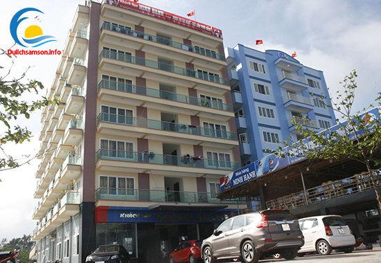 Toàn cảnh khách sạn Minh Hạnh Sầm Sơn