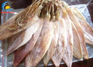 Đặc sản mực khô Sầm Sơn Thanh Hóa