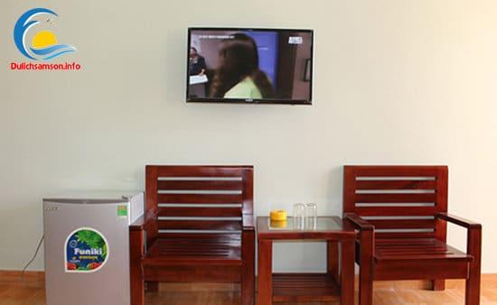 Nội thất phòng nghỉ tại khách sạn Sơn Trang 2 Sầm Sơn