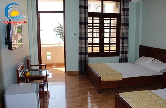 Phòng nghỉ tại khách sạn Sơn Trang 2 Sầm Sơn
